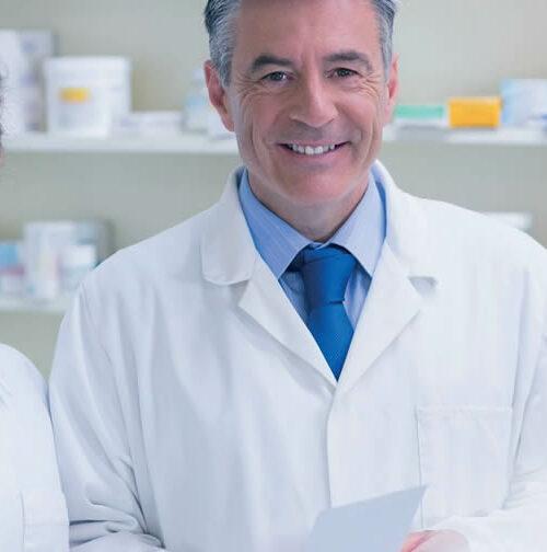Transmisión familiar de una oficina de farmacia
